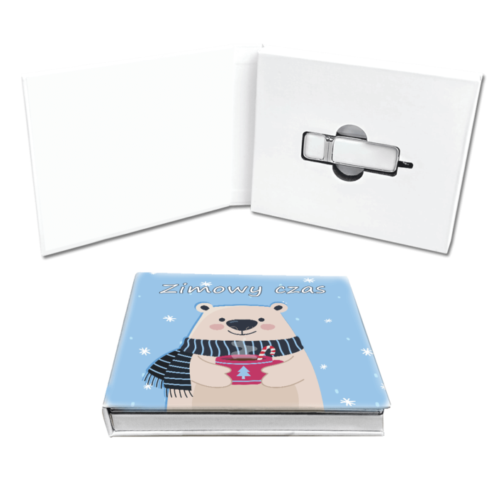 pudełko na pendrive z motywem dziecięcym