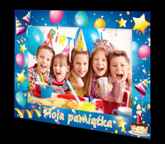 ramki na zdjęcia - motyw urodzinowy