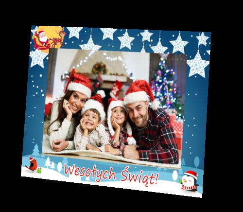 ramki na zdjęcia - motyw świąteczny