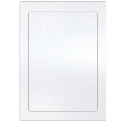 metalik biały