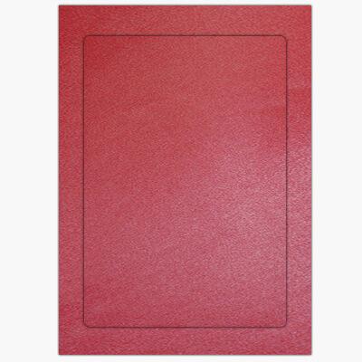 metalik czerwony