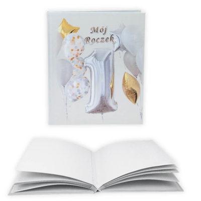 album w okładce drukowanej