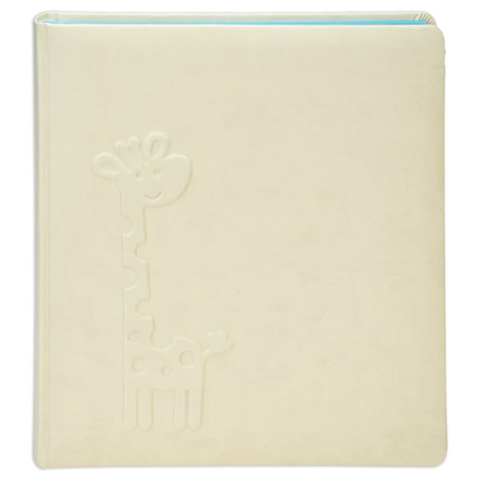 album z żyrafą